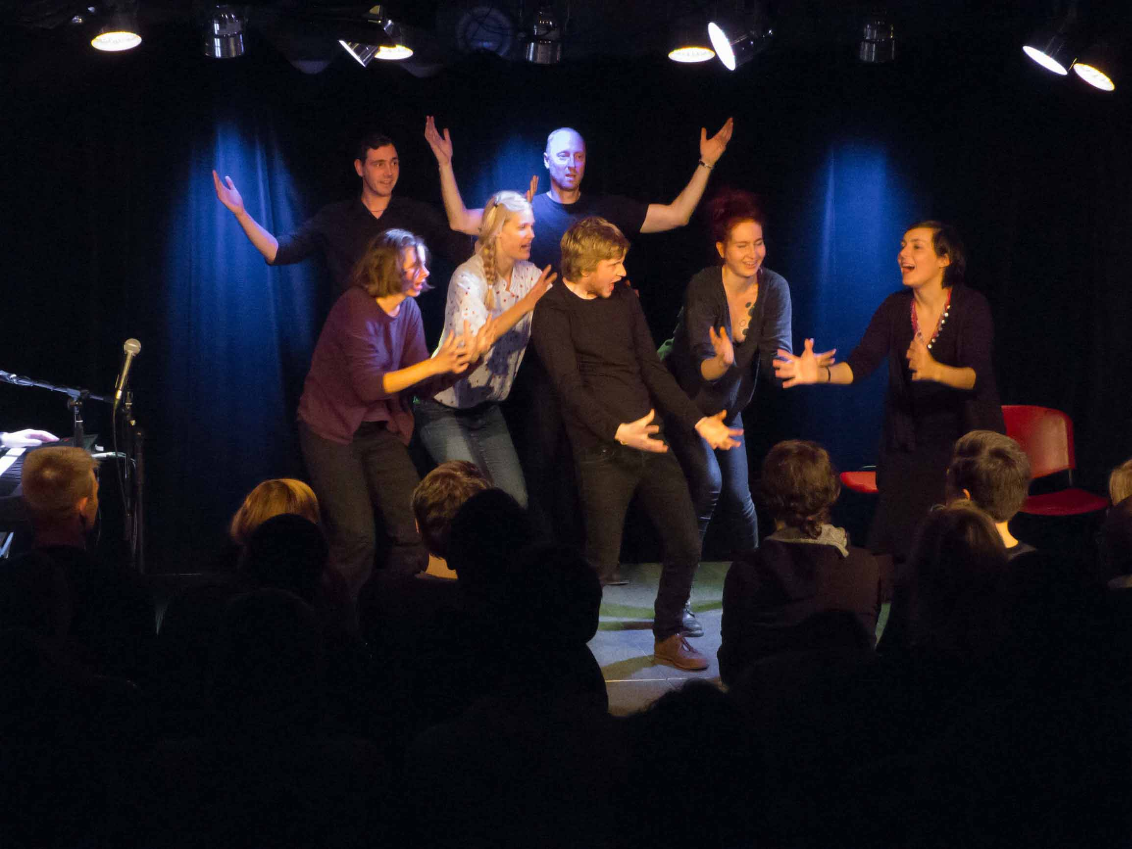 Impro Potsdam in Action